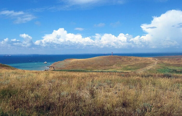 Οι στέπες και η θάλασσα στο Ταμάν