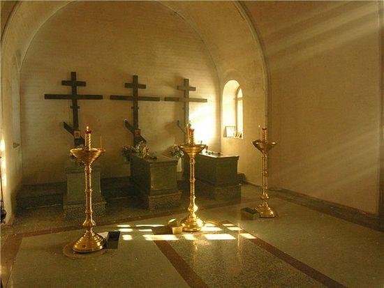 Το παρεκκλήσι στον τάφο των νεομαρτύρων