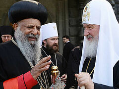 Ethiopian Patriarch thanks Russian Church for support for persecuted clergy and believers