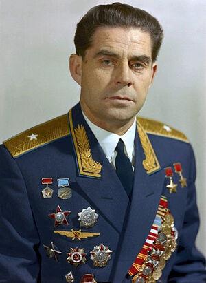 Космонавт Георгий Тимофеевич Береговой