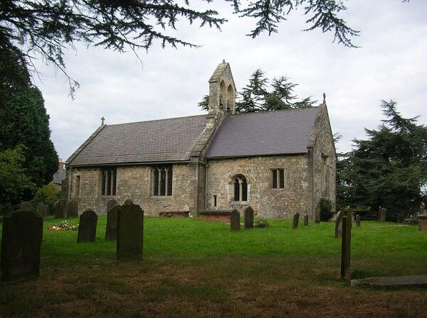 St. Everilda_s Church in Nether Poppleton, North Yorkshire