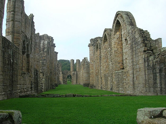 The Finchale Priory ruins, Co. Durham