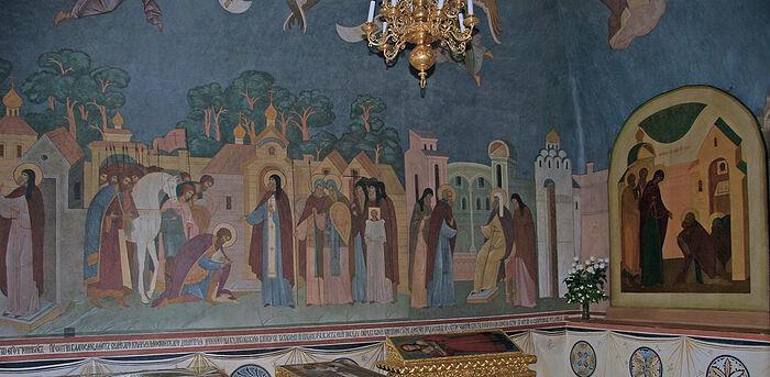 Τοιχογραφίες των Δωματίων του Σεραπίωνος