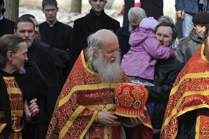 Архимандрит Илия (Рейзмир). В Свято-Троицкой Сергиевой лавре