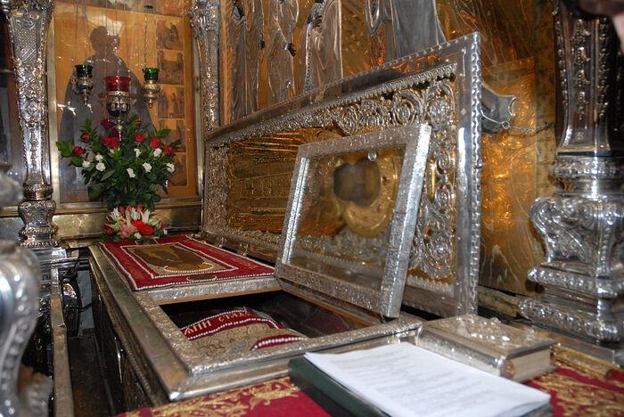 St. Sergius of Radonezh's relics