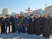 В столице Казахстана заложен храм в честь Александра Невского