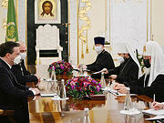 Святейший Патриарх Кирилл встретился с министром иностранных дел Сербии