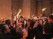 Благодатный огонь из Иерусалима доставят в Москву 1 мая