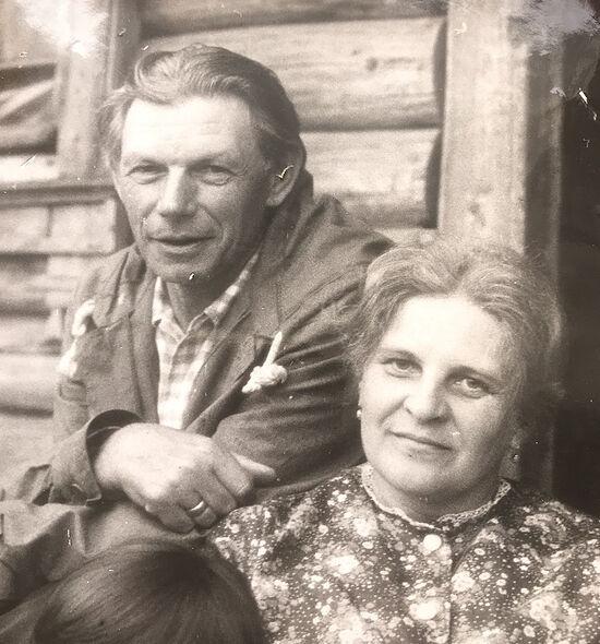Костромская обл. Деревня Матвейково 1980 год