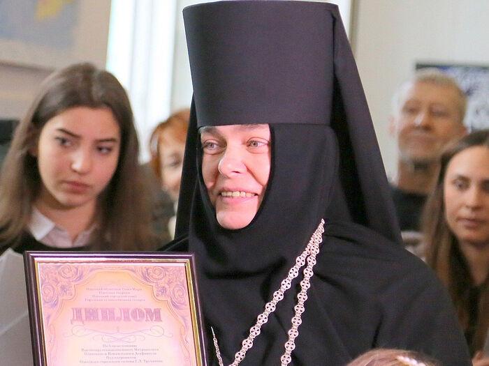 Игуменья Одесского Свято-Архангело-Мийловского монастыря Серафима (Шевчик)