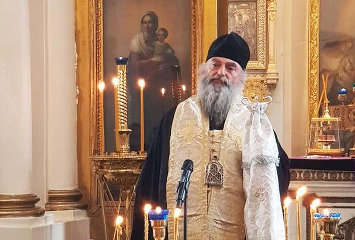 На опелу се молио и владика из Грузије – Митрополит ахалкалакси, кумурдојски и карски Николај (Пачуашвили).