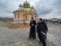 New monastery under construction in Ukraine