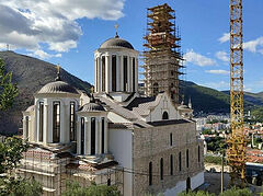 Αναβιώνει η κατεστραμμένη στον πόλεμο εκκλησία στο Μόσταρ
