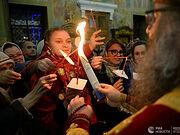 Благодатный огонь раздадут в пятнадцати храмах Москвы