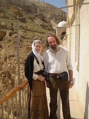 Алексей Иванович Сидоров с женой Светланой