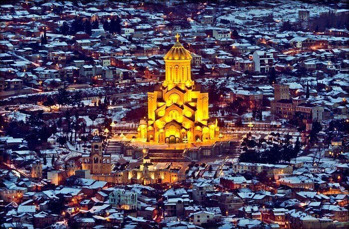 Holy Trinity Cathedral, Tbilisi. Photo: Facebook
