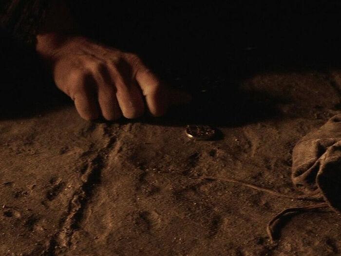 Кадр из фильма «Страсти Христовы». Режиссёр: Мэл Гибсон, 2004 год