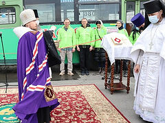 Russian Church launches another Mercy Bus to help the homeless