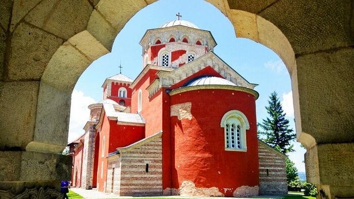 Манастир Жича задужбина Стефана Првовенчаног (фото Никола Тркља)