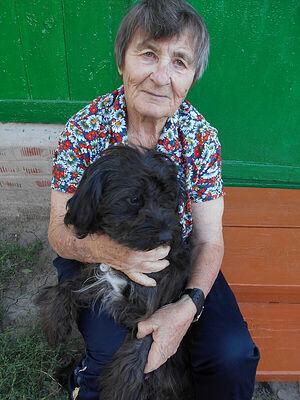 Мама с псом
