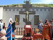 Памятник новомученикам Церкви Русской освящен в Лисьей балке в казахстанском Чимкенте
