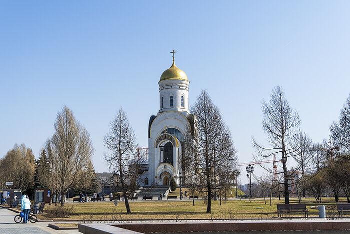 Храм великомученника Георгия Победоносца на Поклонной горе