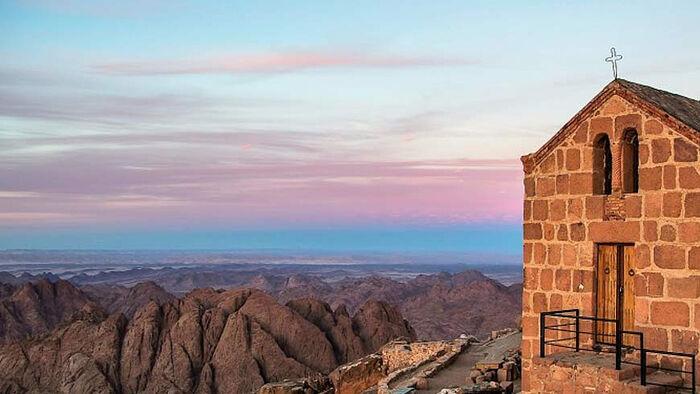 Church of the Holy Trinity on Mt. Sinai