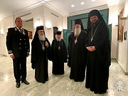 Блаженнейший Патриарх Иерусалимский Феофил посетил торжественное мероприятие в честь Дня Победы