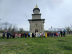 Resurrected on Pascha: First service in Moldova church since construction stopped in 1940