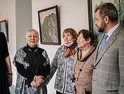 В Больнице Святителя Алексия открылась выставка картин правнучки первого главврача Больницы