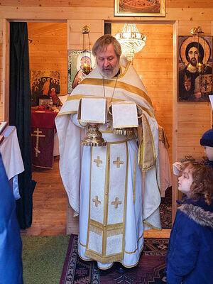 В Церкви свт. Иоанна Шанхайского (Белфаст). Служит о. Пол Эллиот