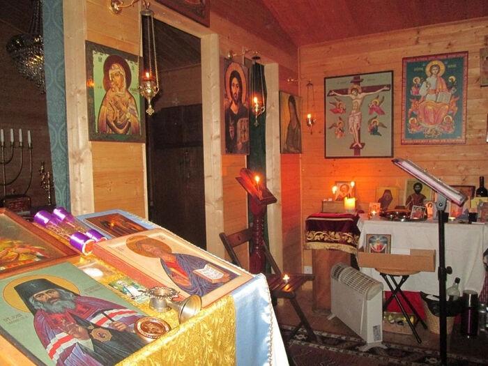 В Церкви свт. Иоанна Шанхайского (Белфаст)
