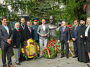 В Баня-Луке открыли памятник маршалу Жукову