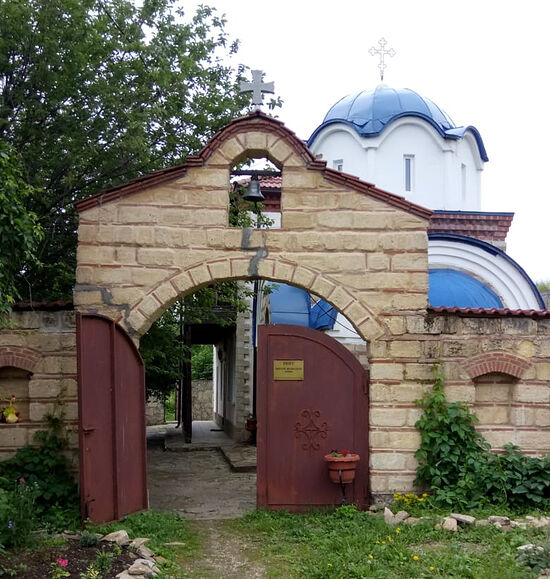 Скит святой праведной Анны рядом с Казанской Трифоновой пустынью