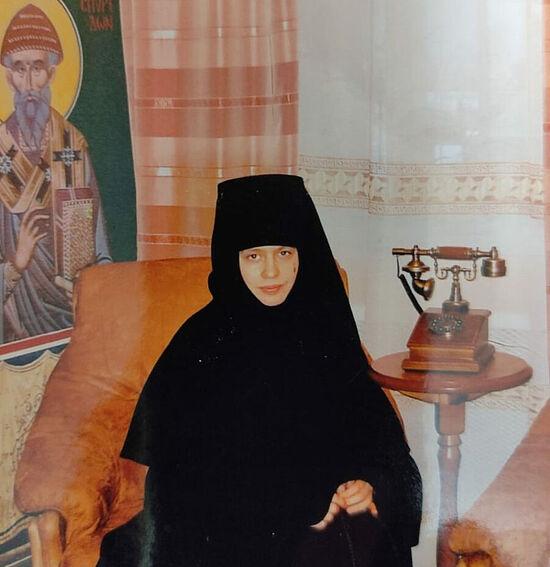 Старшая сестра скита святой праведной Анны