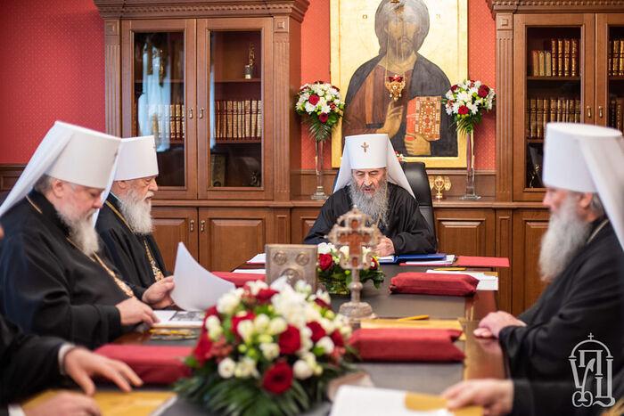 Состоялось первое в 2021 году заседание Синода Украинской Православной Церкви