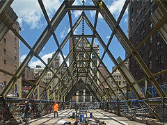 Serbian cathedral ravaged by fire in 2016 receives NY Landmarks Conservancy award