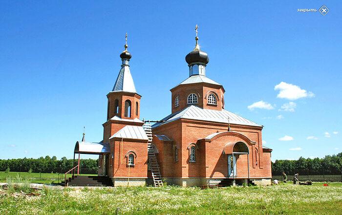 Храм Св. Иоанна Златоуста с. Никульевка Пензенская обл.