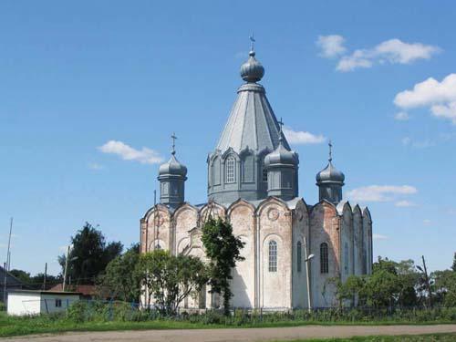Церковь в Липовке Пензенская область