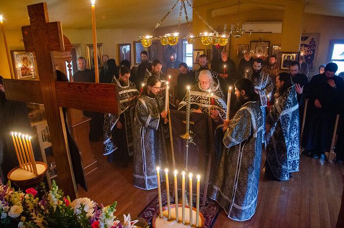 В Крестовоздвиженском монастыре в американском штате Западная Вирджиния