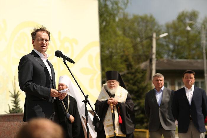 Владимир Ростиславович Мединский, помощник Президента Российской Федерации, председатель Российского военно-исторического общества