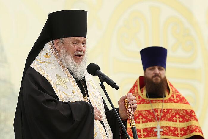 Епископ Балашихинский и Орехово-Зуевский Николай (Погребняк), главный редактор Издательского отдела Московской Патриархии