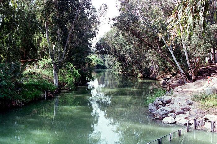 Ο Ιορδάνης ποταμός. Φωτογραφία: Maisterman Semen/TASS