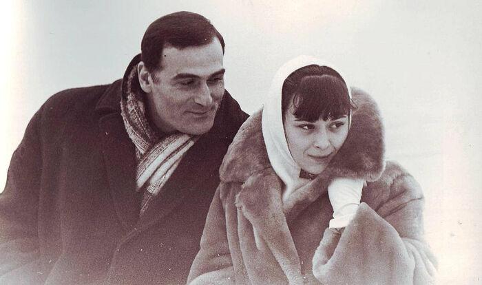 Кахи Кавсадзе и Белла Мирианашвили