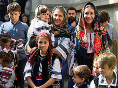 Traditional family values events held in Orthodox countries