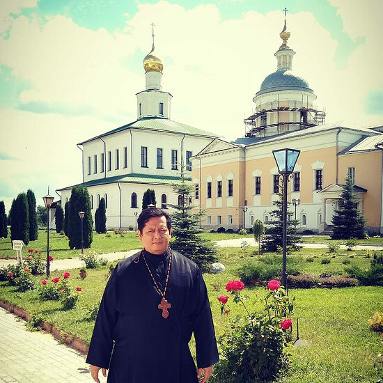 A pilgrimage to the Holy Theophany Old Golutvin Monastery in Kolomna near Moscow, 2018