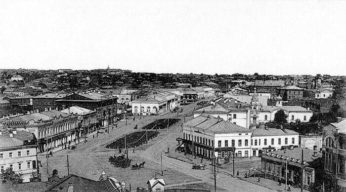 Город Симбирск в начале ХХ века