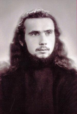 Инок Георгий (Стеблюченко), студент ЛДА