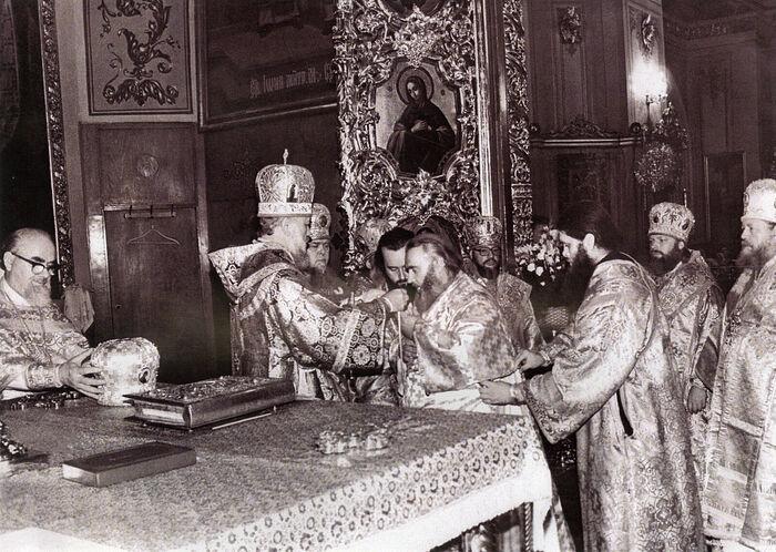 Епископская хиротония архимандрита Гавриила (Стеблюченко)