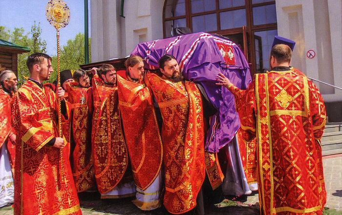 Погребение архиепископа Гавриила